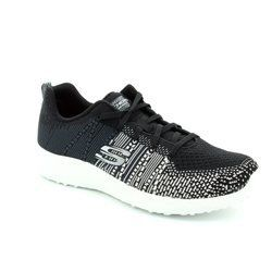 Skechers Trainers & Canvas - Black - 12437/011 BURST ELLIPSE