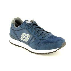 Skechers Trainers & Canvas - Navy Grey combi - 52310/420 OG 85 EARLY