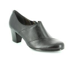Alpina Heeled Shoes - Black - 8Y80/8 PAOLANA
