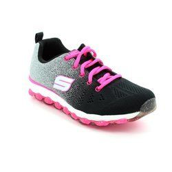 Skechers Girls Shoes - Black - 80035/890 SKECHAIR ULTRA