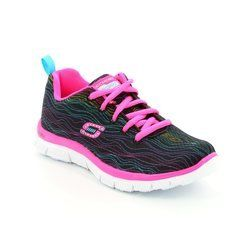 Skechers Girls Shoes - Black - 81856/890 PRANCY DANCE