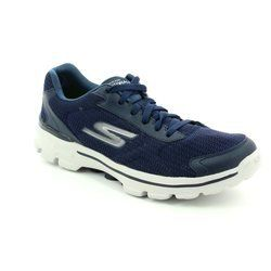 Skechers Trainers & Canvas - Navy - 53981/70 M GO WALK 3 LA