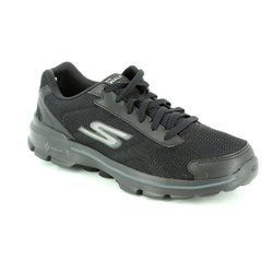Skechers Trainers & Canvas - Black - 53981/007 M GO WALK 3  A