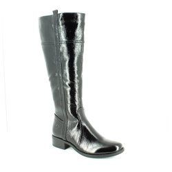 Heavenly Feet Boots - Long - Black patent - 6008/40 CAPELLA