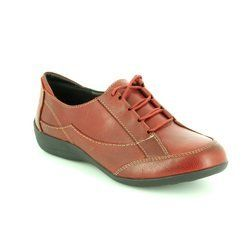 Padders Everyday Shoes - Wine - 0050/12 GLADE EE FIT