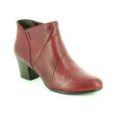Tamaris Boots - Short - Wine - 25016/537 OKSANA 62