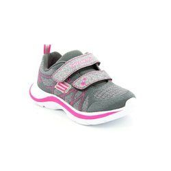 Skechers Girls 1st Shoes & Prewalkers - Grey - 81497/143 LIL GLAMMER