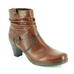 Gabor Boots - Ankle - Brown - 36.083.62 COLLAR