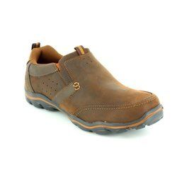 Skechers Shoes - Dark brown - 64440/795 MONTZ DEVENT