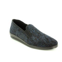 Rohde Slippers & Mules - Navy - 2606/56 CORD FS