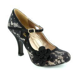 Ruby Shoo Heeled Shoes - Black - 08996/30 ELSY