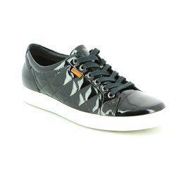 ECCO Everyday Shoes - Black patent - 430083/58636 SOFT 7 LADIES