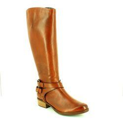 Tamaris Boots - Long - Brown - 25525/311 MARLY