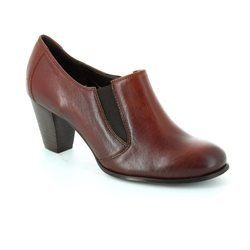 Relaxshoe Heeled Shoes - Dark Tan - 010086/10 COTTO
