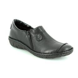 Relaxshoe Everyday Shoes - Black - 026770/30 INCAP