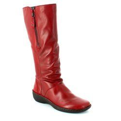 Relaxshoe Boots - Long - Red - 291004/80 SUFFLONG