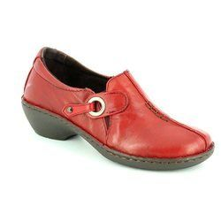 Relaxshoe Everyday Shoes - Dark Red - 029002/81 UNDER