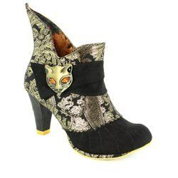 Irregular Choice Boots - Short - Black multi - 3432-02U MIAOW