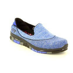 Skechers Trainers & Canvas - Blue - 14012/794 GO FLEX STRIDE