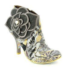 Irregular Choice Boots - Short - Black grey multi - 3615-09A PEARL NECTURE