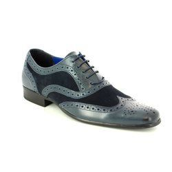 Red Tape Shoes - Blue - 3002/70 CARN