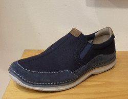 Clarks Trainers & Canvas - Blue - 1417/67G RIPTON FREE