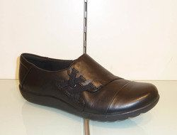 Clarks Everyday Shoes - Black - 2185/94D MEDORA SANDY