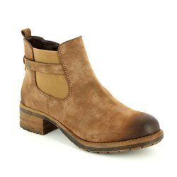 Rieker Boots - Short - Brown - 96864-24 NEWTON