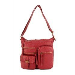 JEWN Handbags - Wine - 5580/08 POK 5580