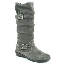 IMAC Girls Boots - Grey-suede - 63738/7004018 CHICKS TEX