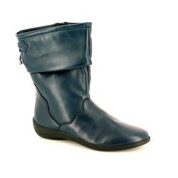 Padders Boots - Short - Navy - H207/24 REGAN E FIT