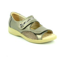 Padders Everyday Shoes - Metallic - 0723/64 GRACE EEEE