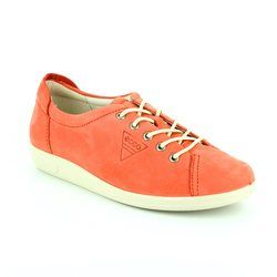 ECCO Everyday Shoes - Coral pink - 206503/02259 ALSO SOFTER