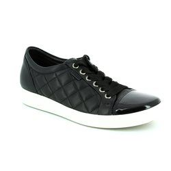 ECCO Everyday Shoes - Black patent - 430083/50659 SOFT 7 LADIES