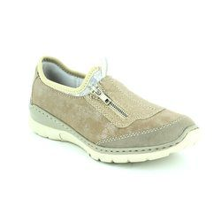 Rieker Everyday Shoes - Taupe multi - L3259-40 MEMOZI