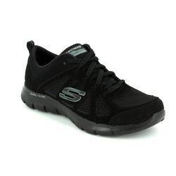 Skechers Trainers & Canvas - Black - 12761/007 SIMPLISTIC