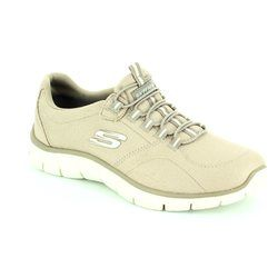 Skechers Trainers & Canvas - Taupe - 12407/578 EMPIRE
