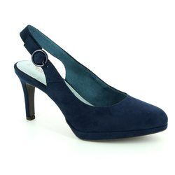 Tamaris Heeled Shoes - Navy - 29605/805 YAM