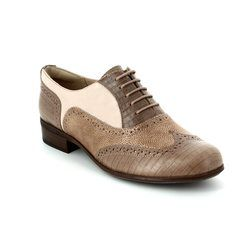 Clarks Everyday Shoes - Nude - 2280/14D HAMBLE OAK