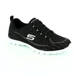 Skechers Trainers & Canvas - Black - 23412/011 ESTRELLA
