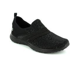 Skechers Trainers & Canvas - Black - 23322/011 UNDER WRAPS