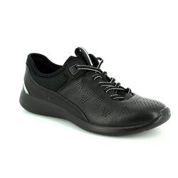 ECCO Everyday Shoes - Black - 283063/50352 SOFT 5 LACE