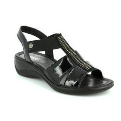 IMAC Sandals - Black patent - 72830/4470011 CATHRYN GLITZ