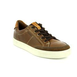 ECCO Shoes - Brown - 530604/55778 KYLE
