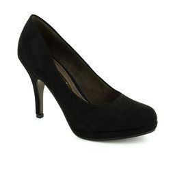 Tamaris Heeled Shoes - Black - 22407/001 TAGGIA