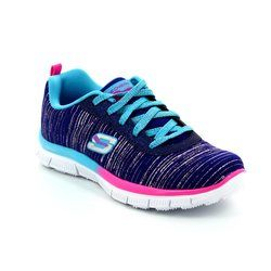 Skechers Girls Shoes - Blue mutli - 81834/224 GLITTER RUSH