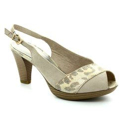 Marco Tozzi Heeled Shoes - Beige multi - 29607/435 BOITO