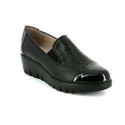 Wonders Heeled Shoes - Black patent - C3360/40 FLYCAP