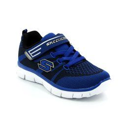 Skechers Boys Shoes - Blue multi - 95523/77 MASTERMIND MF