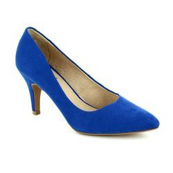 Lotus Heeled Shoes - Blue - 50593/70 DULCIE